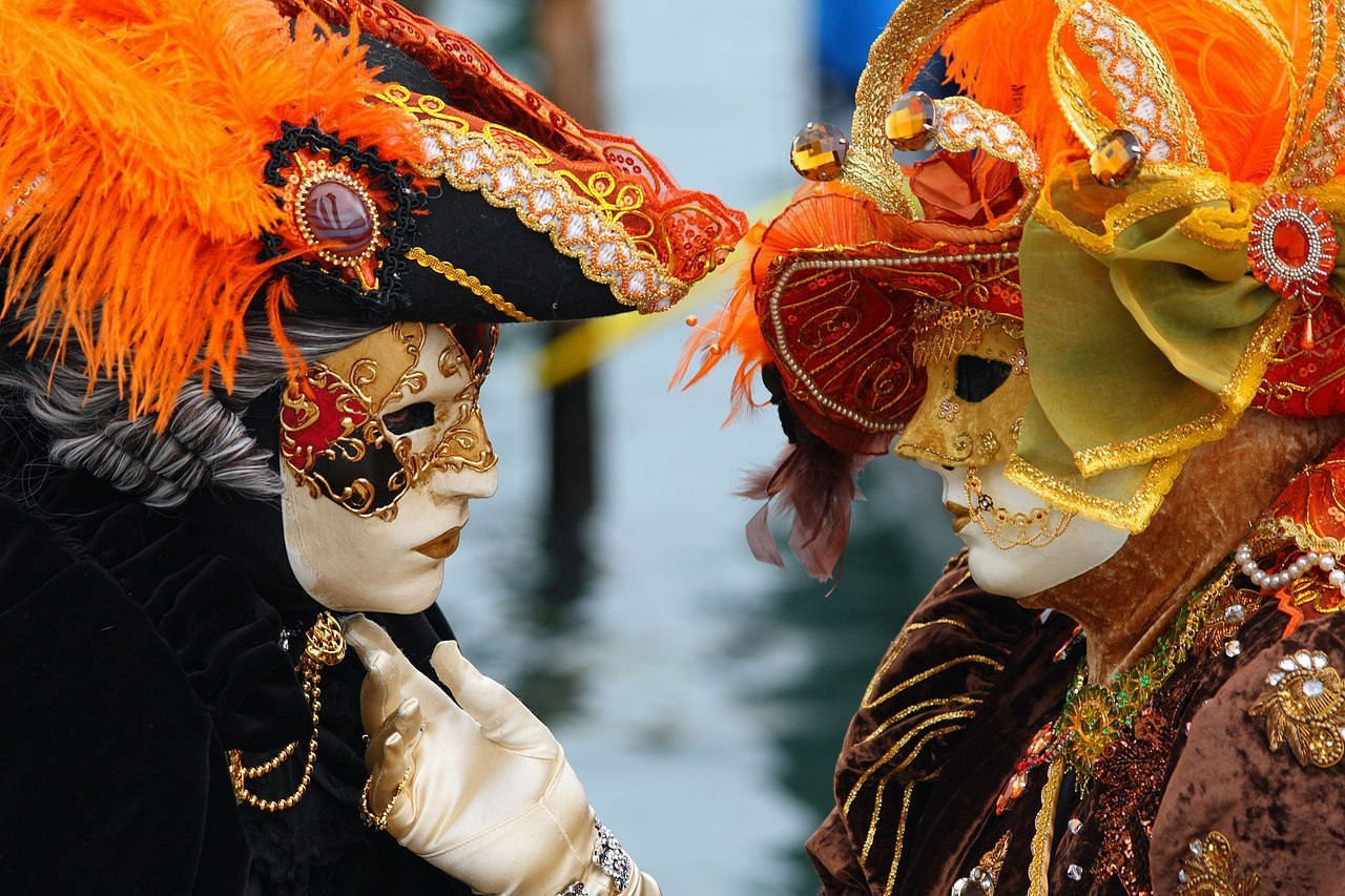 The Venetian Carnaval is world famous