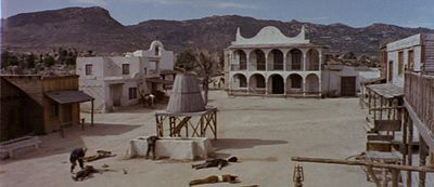 Hoyo de Manzanares, once used as a filming location for Fistful of Dollars