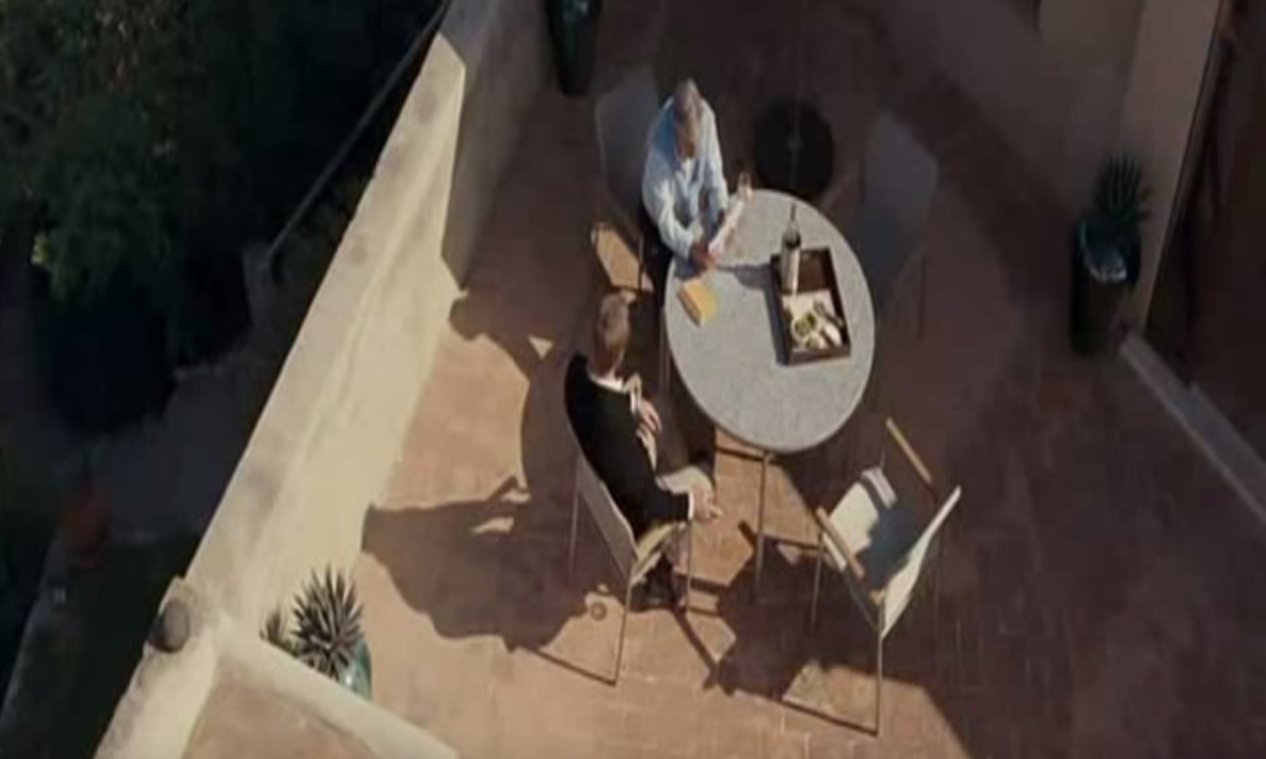 The terrace as seen in Quantum Of Solace