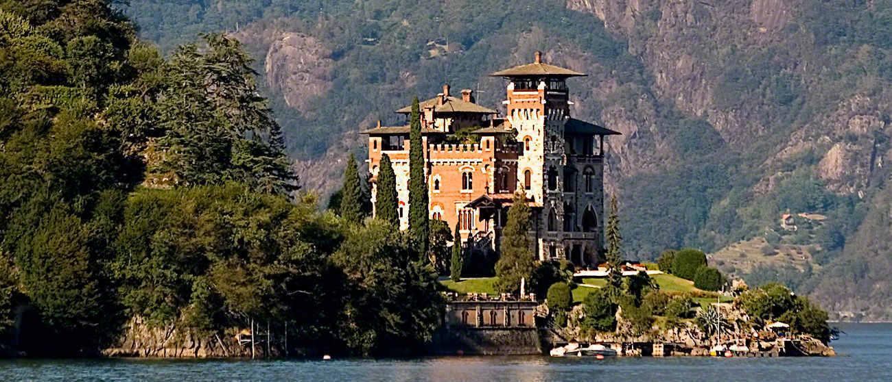 Villa La Gaeta, residence of Mr White in Casino Royale (2006)