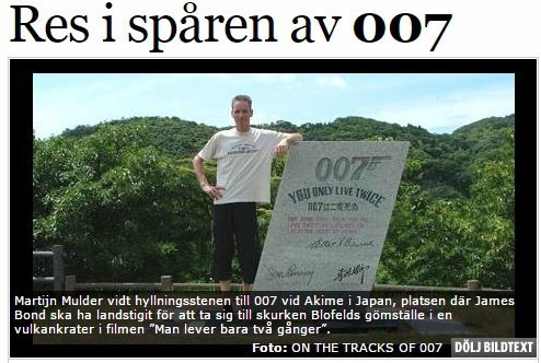 Article in the Swedish Aftenbladet
