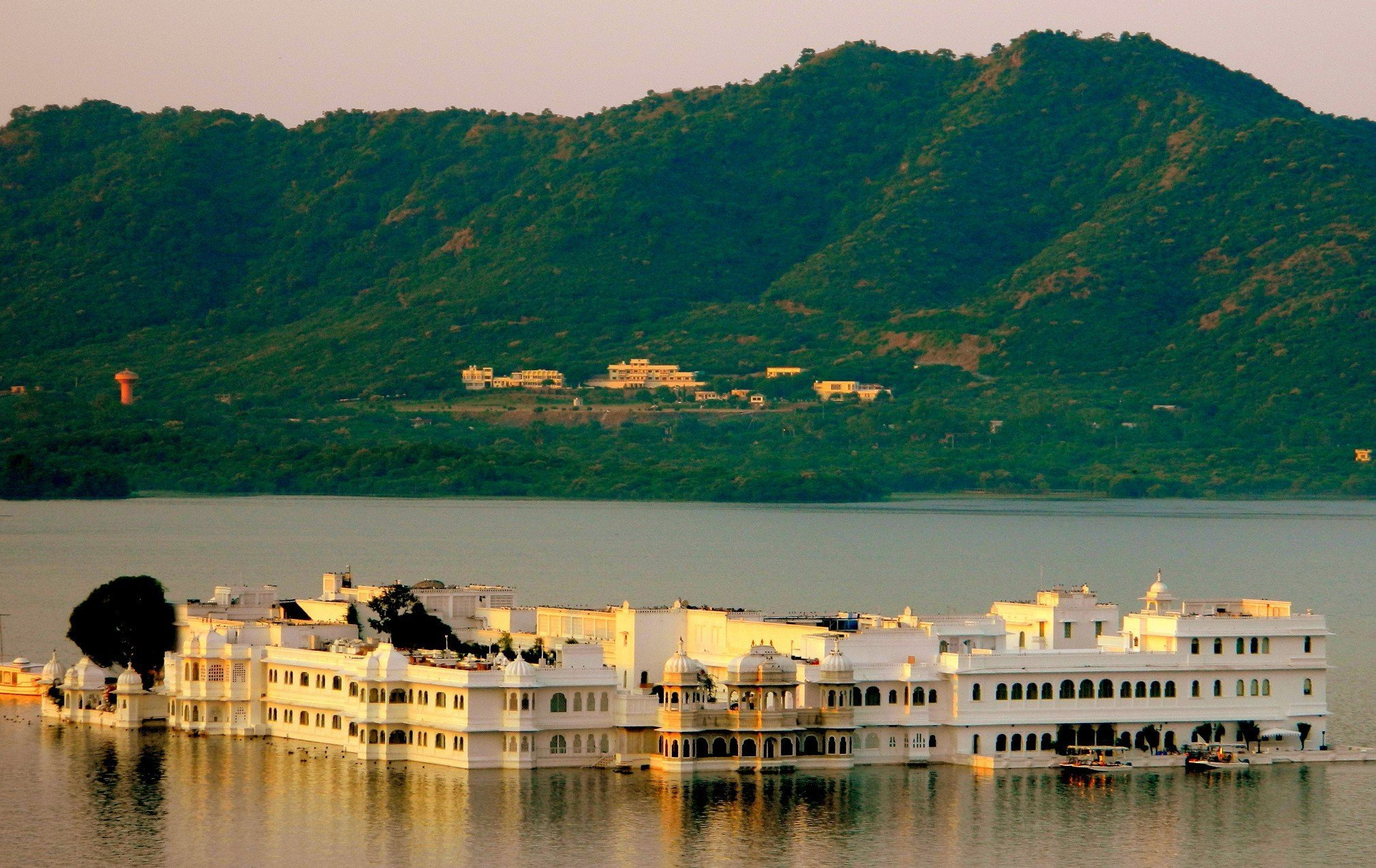Taj Lake Palace in Lake Pichola, Udaipur