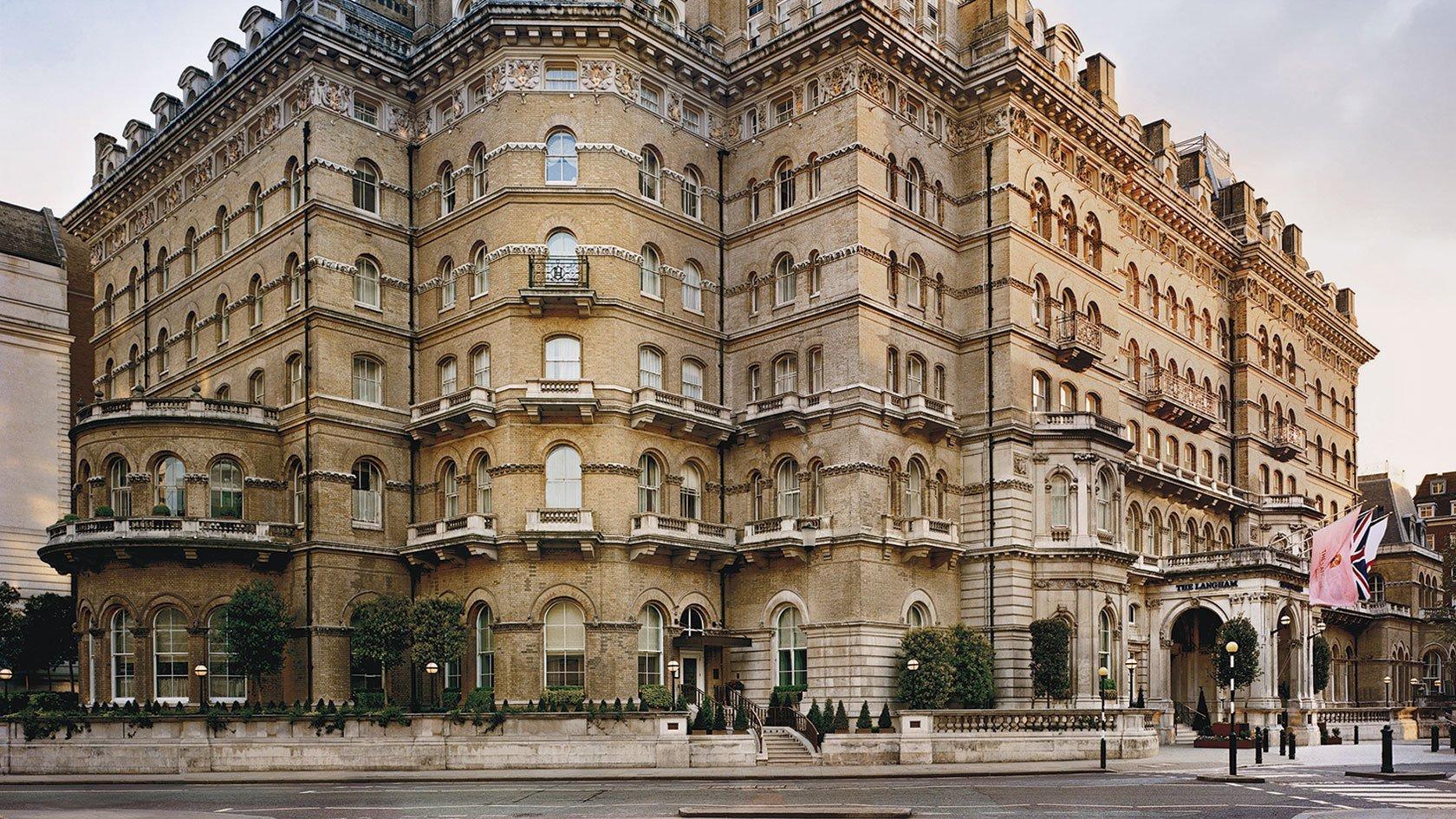The Langham Hotel in London