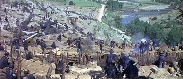 The civil war battle field, along Rio Arlanza