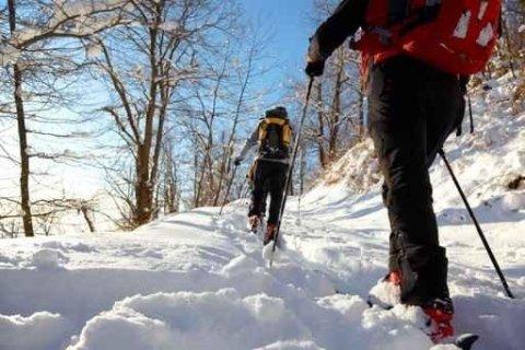Snowshoeing Madonna di Campiglio