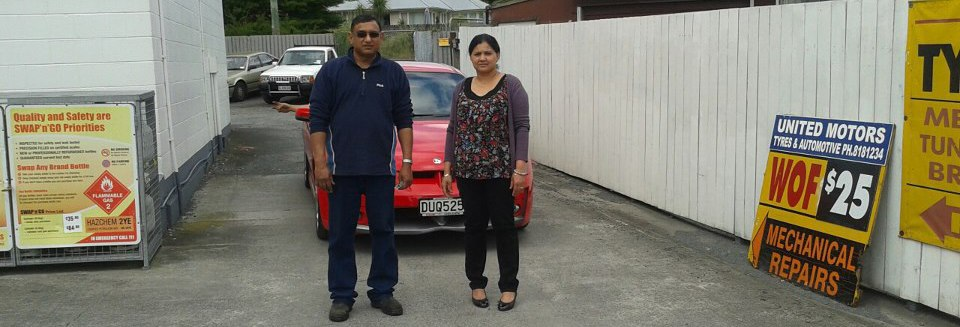 Owners of motor repairs in Auckland
