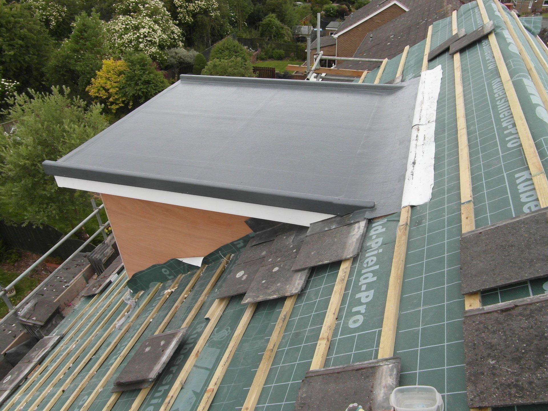 Window roofing