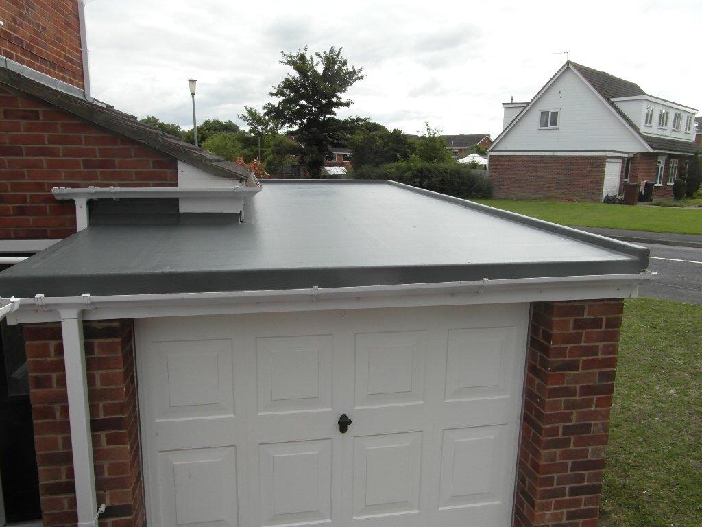 Garage roof repairs