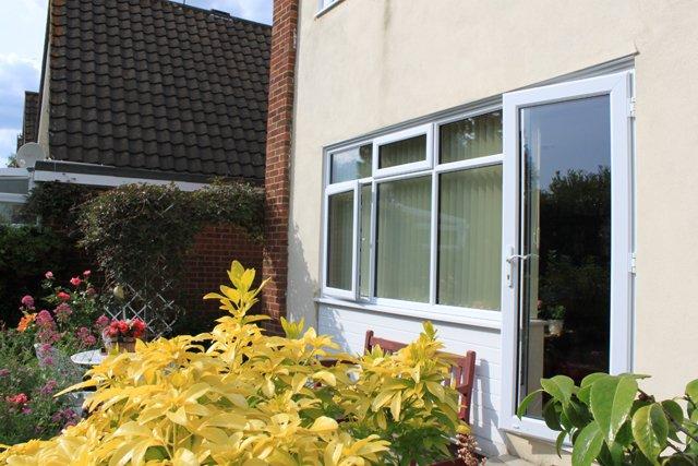 White garden door in Harrow