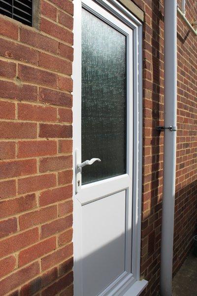 White residential door in Harrow