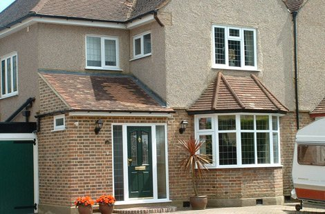 Various Bay and Casement windows on a semi-detached property.