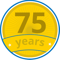 75 years icon