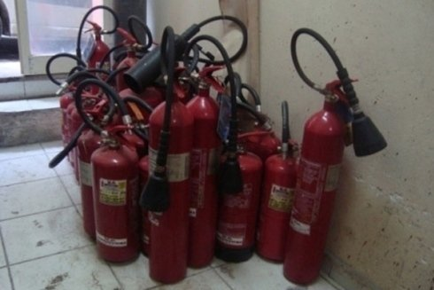 materiale antincendio