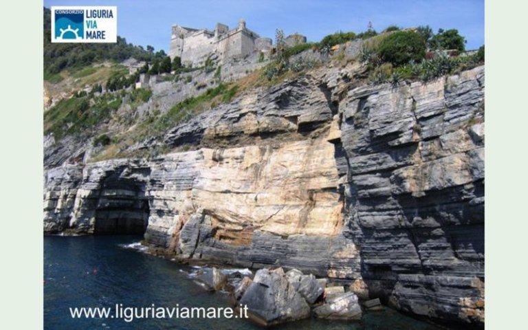 Cinque Terre by sea around Liguria