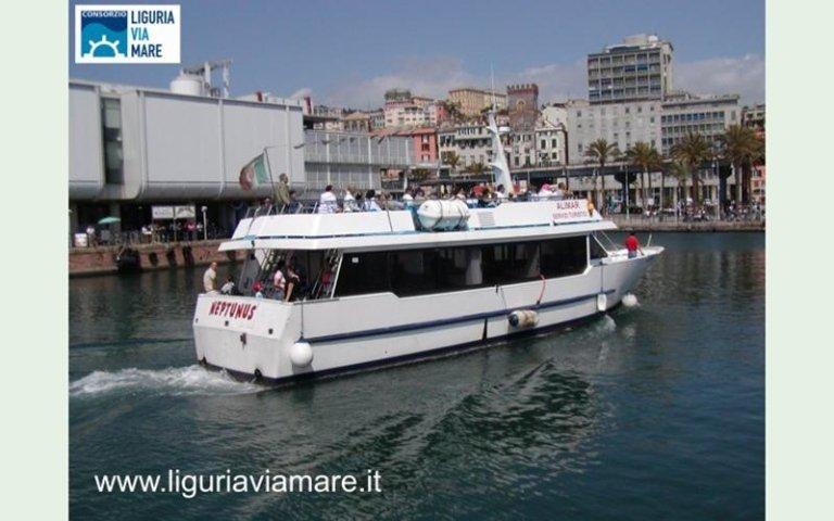 Liguria Neptunus boat day trips