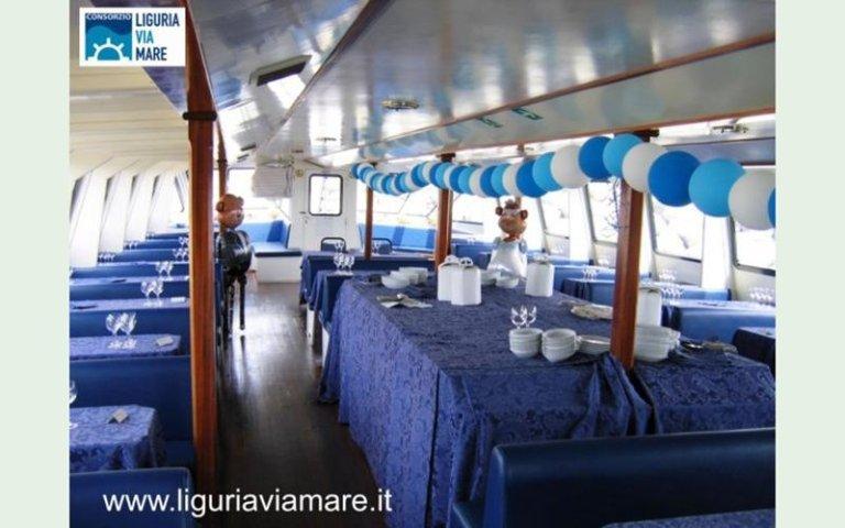 Wedding at sea Italy