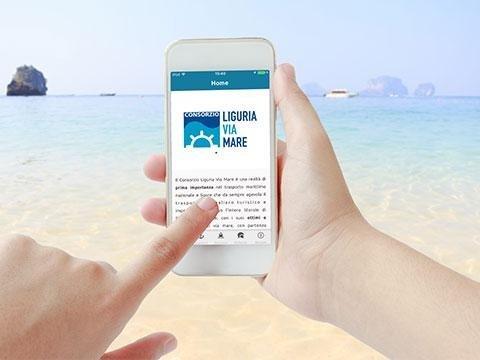 App Consorzio Liguria via Mare