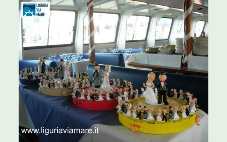 weddings at sea in Italy