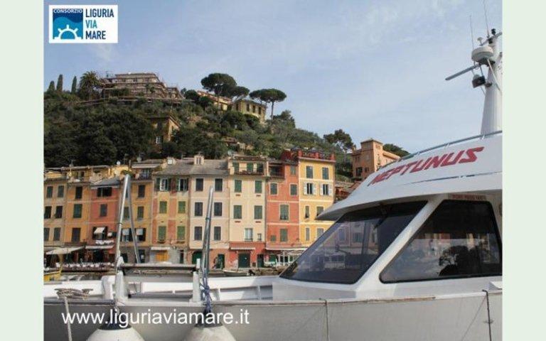Neptunus motorboat Cinque Terre