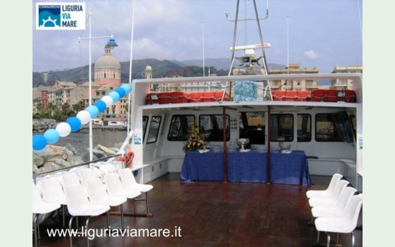 ships for weddings Italy