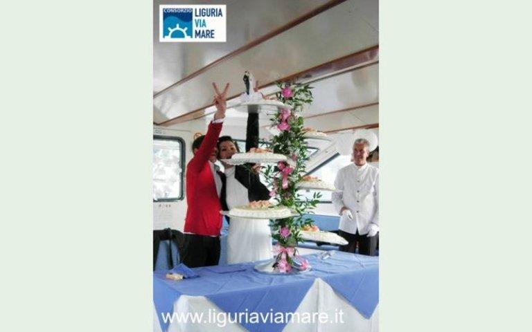 sposalizio nave italia