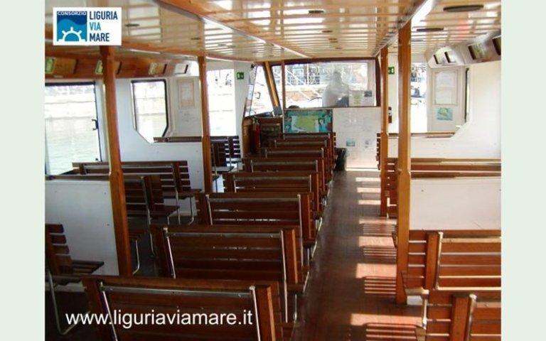 gita barca escursione liguria