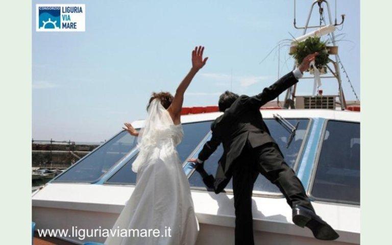sposalizio barca italia
