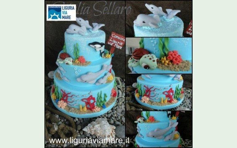 Cake design contest in Cinque Terre