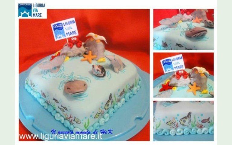 Cake design contest cinque terre
