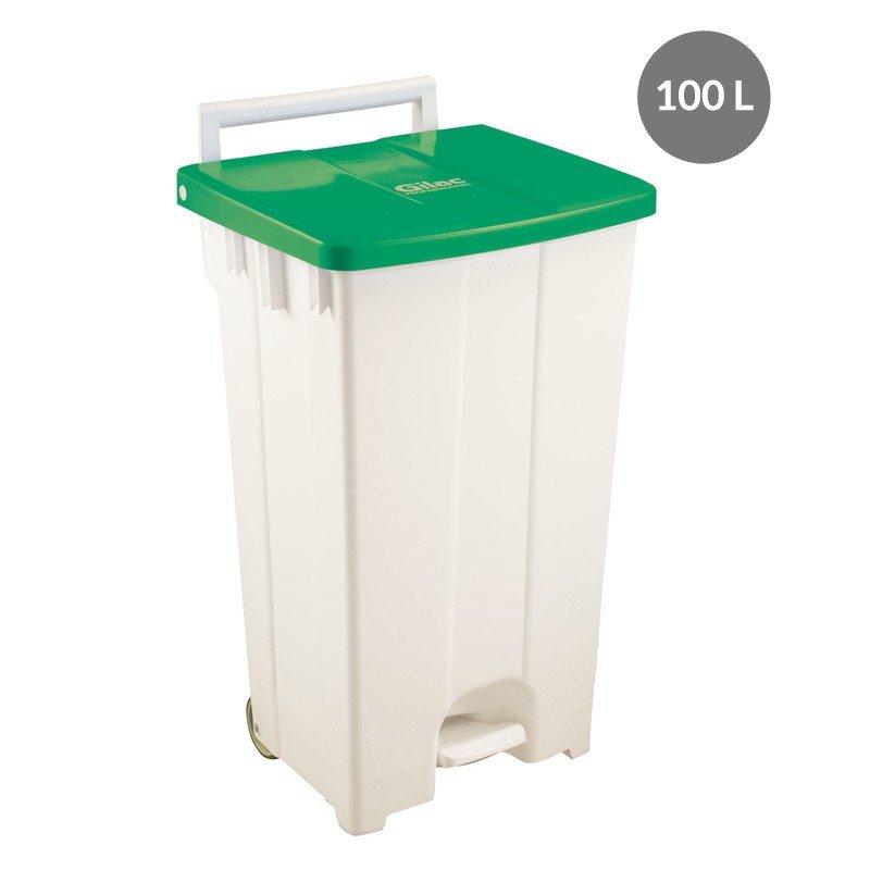 Container porta sacchi 100l