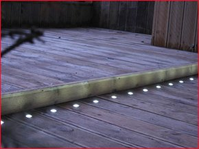 Decking Lights - Ag Electrical Services