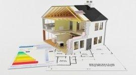 casa, tetto, piano regolatore