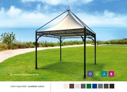 gazebi coperture de vivo ed ombrelloni