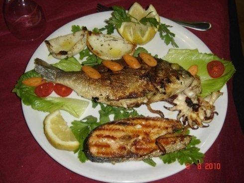 griglaita di pesce