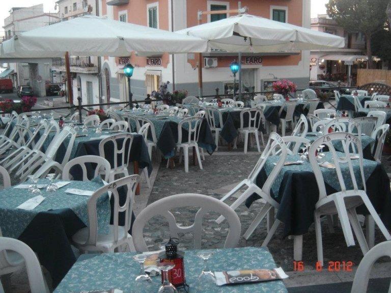 pizzeria con terrazza