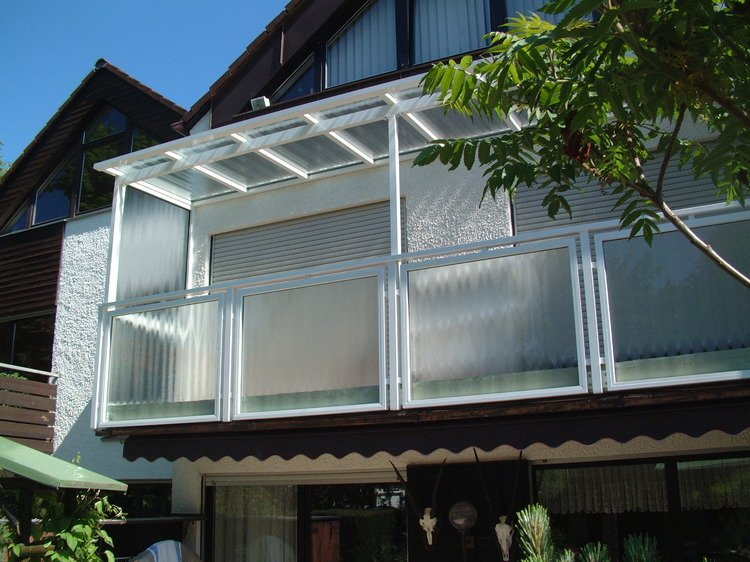 balkon berdachung in garching bei m nchen i stefan lutz. Black Bedroom Furniture Sets. Home Design Ideas