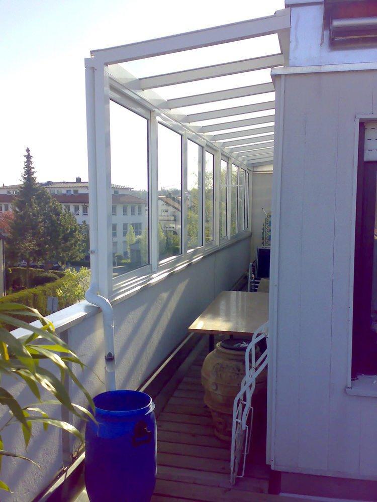 balkon berdachung stefan lutz berdachung in garching. Black Bedroom Furniture Sets. Home Design Ideas