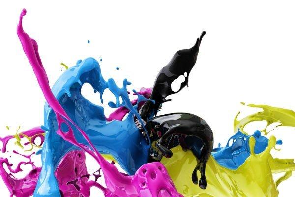 dei colori che schizzano