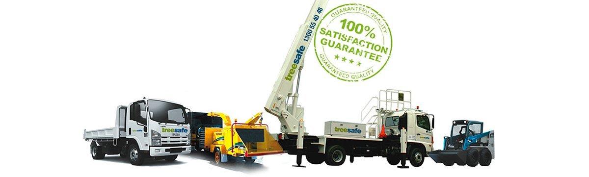 treesafe environmental services equipment & trucks