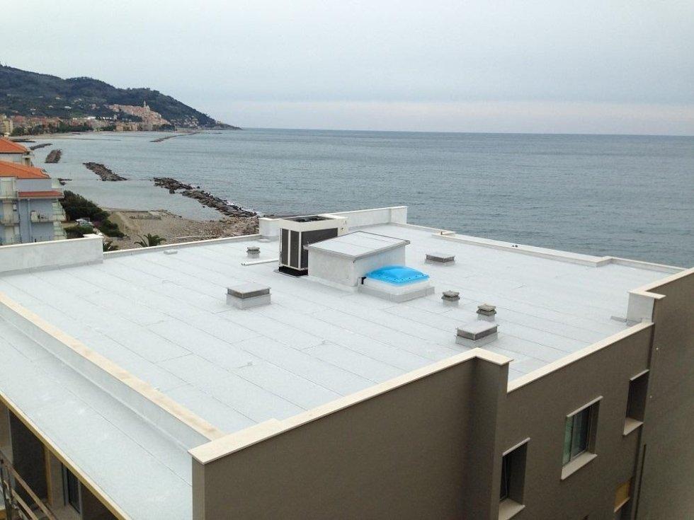 fine lavori Hotel Bellevue Diano Marina.