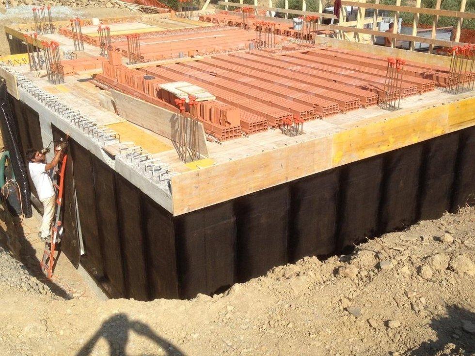 impermeabilizzazione parete nuova costruzione