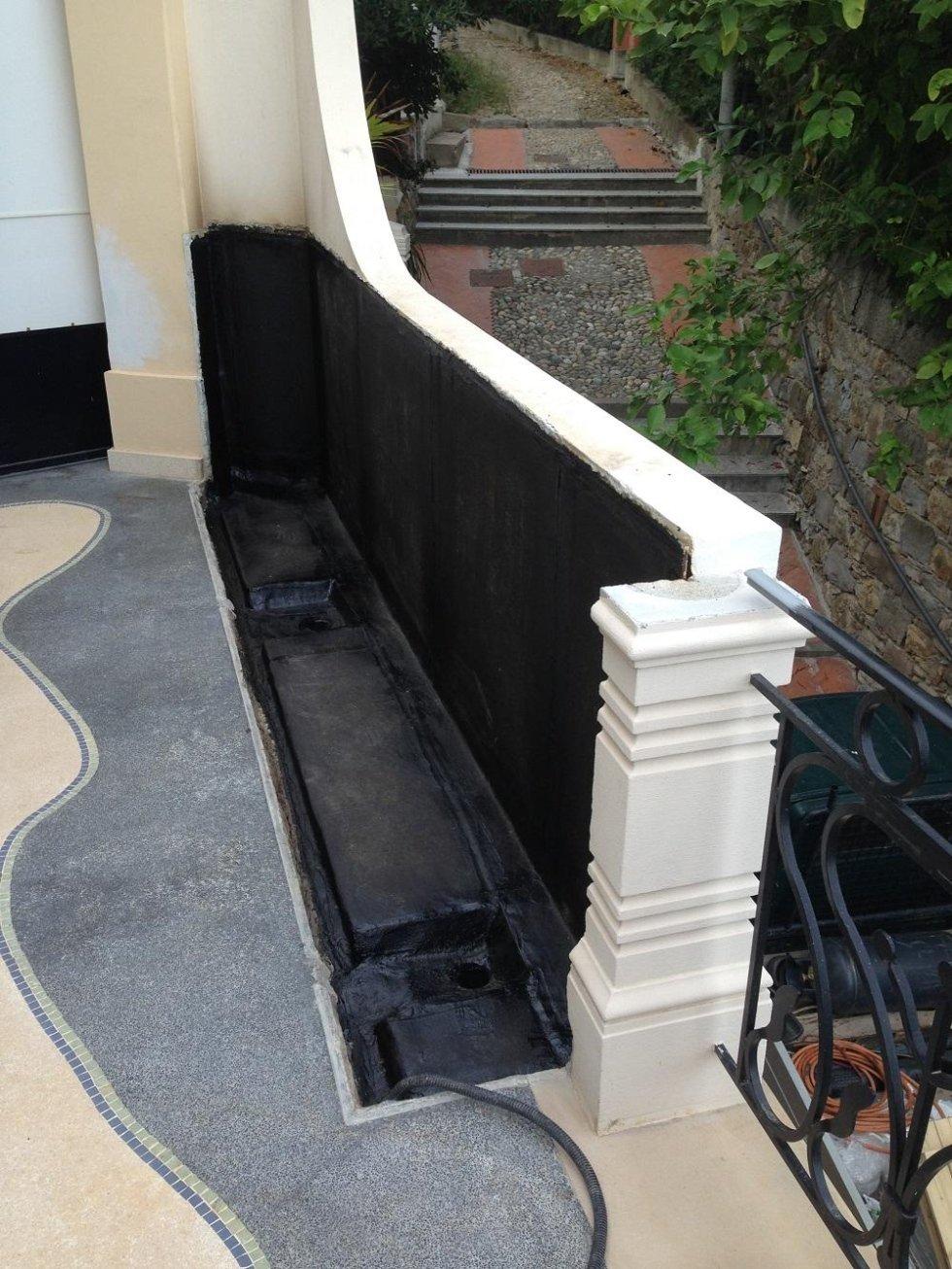 riparazione terrazzo