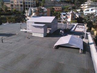 copertura ardesiata grigia condominio Oreade Sanremo