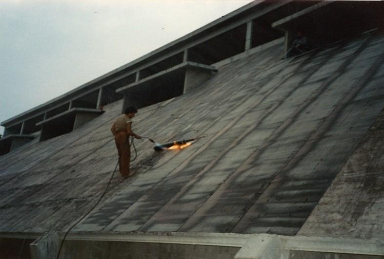lavori di impermeabilizzazione su tetto