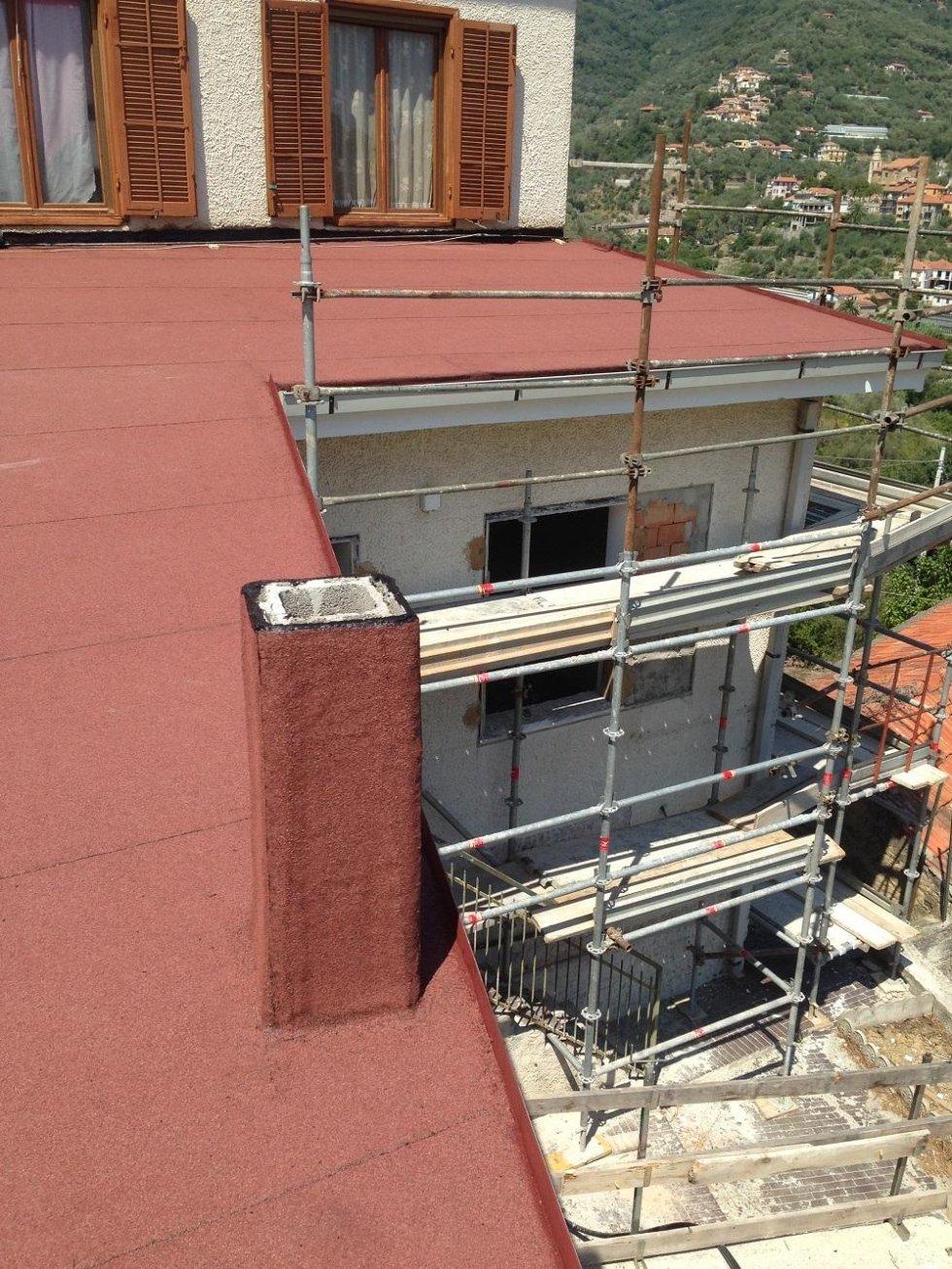 impermeabilizzazione tetto in pendenza