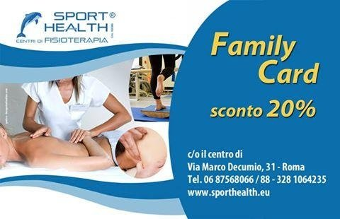 family card sporthealth