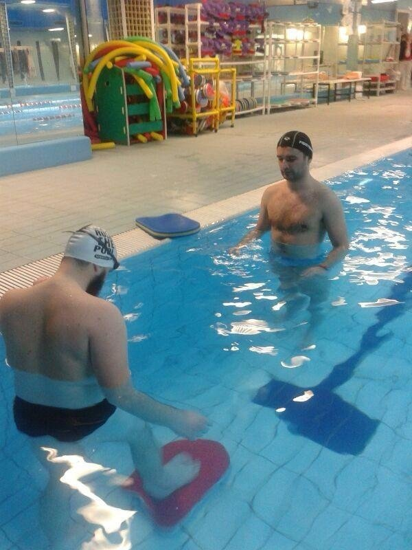 Terapia di recupero in acqua