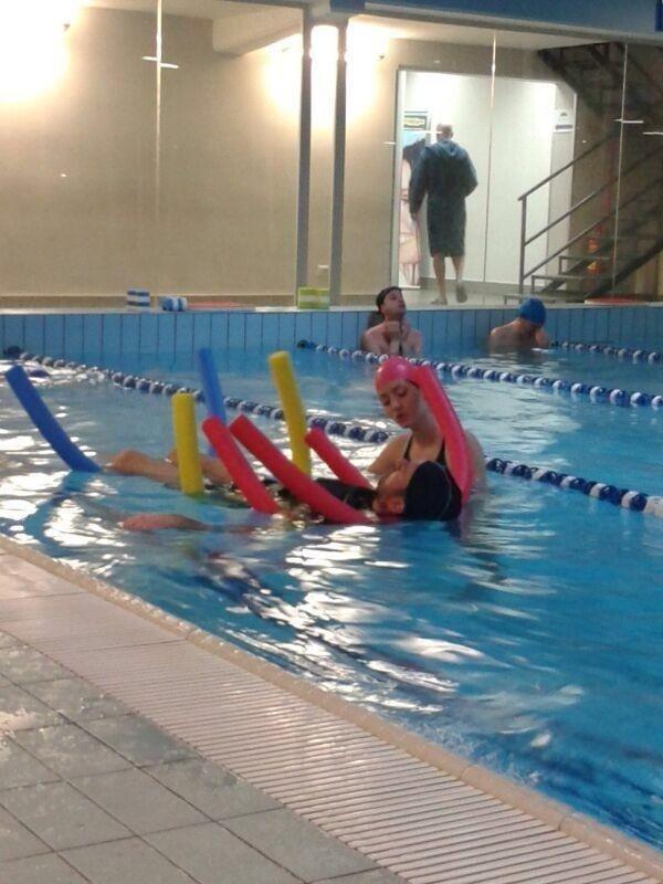 terapia di recupero in acqua, idrokinesiterapia