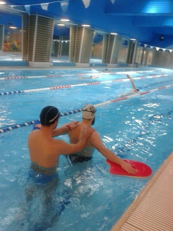 rehabilitation sessions in the water, hydrokinesitherapy