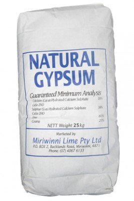 gypsum fertiliser